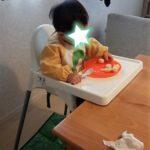 離乳食・赤ちゃんの食事にあったら便利、ひっくり返らない食器