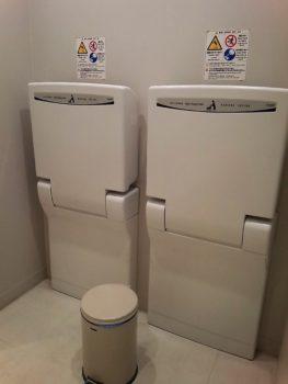 成田空港第3ターミナル_オムツ替えシート