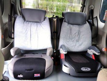 カーシート枕をDIY